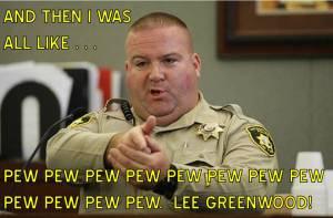 OFFICER SAFETY PEW PEW PEW