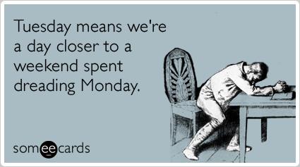 DAVID DUST: Happy Tuesday!